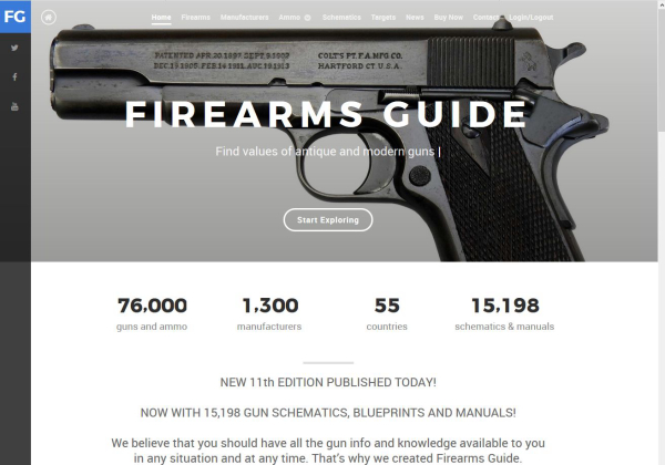 New Firearms Guide Offers 15K Printable Gun Manuals & Blueprints