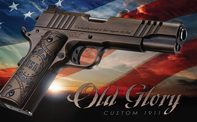 Auto-Ordnance Old Glory 1911: Proud of That Ragged Old Flag